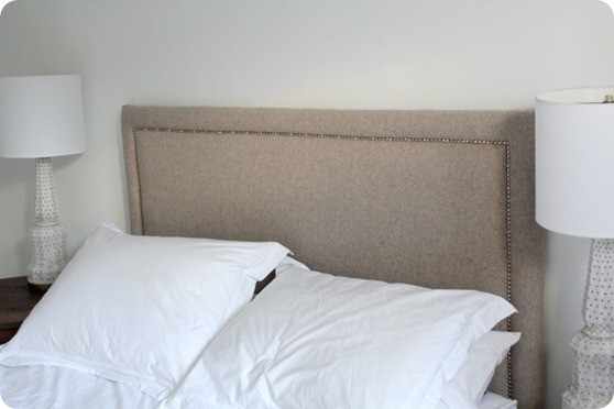Fabric Covered Headboard - KnockOffDecor.com