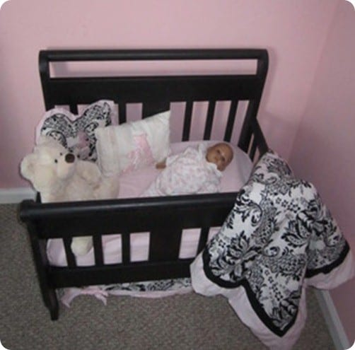 toddler bed to doll bed