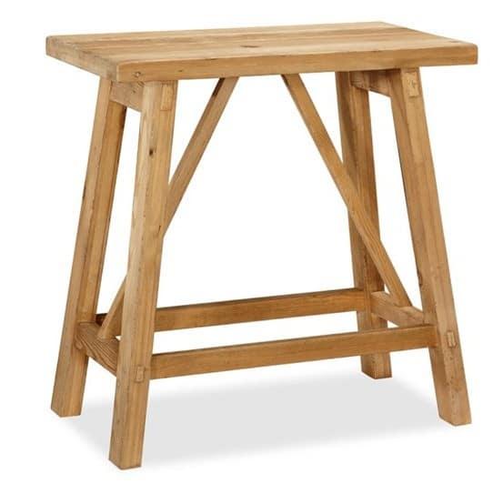 Sawyer Trestle Bedside Table