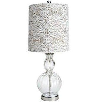 Vintage Lace Lamp