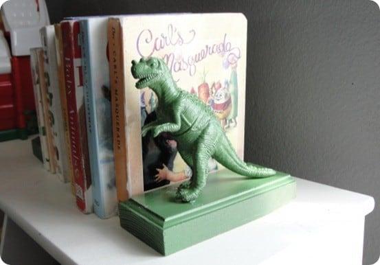 dinosaur bookend