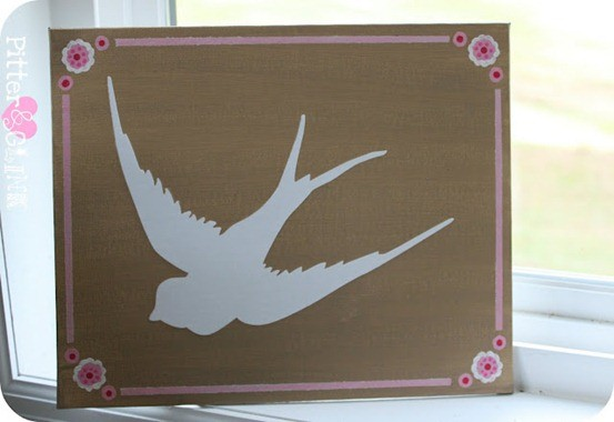 diy bird art