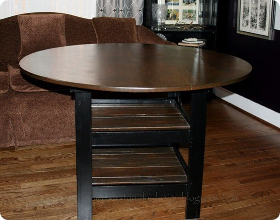 Simple diy dining room table
