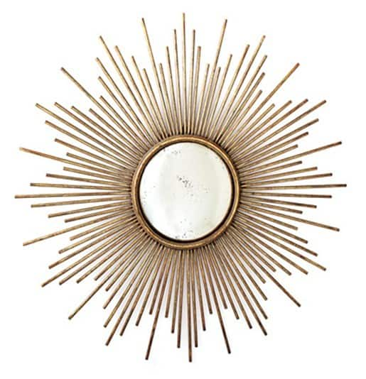 sunburst wall mirror inspiration