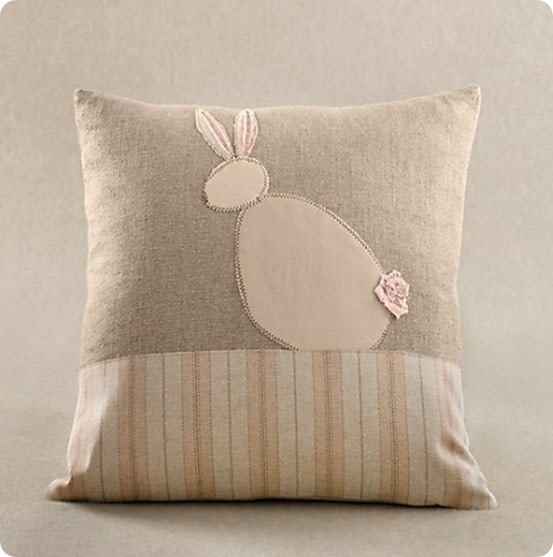 Quot Stash Buster Quot Easter Bunny Pillow Knockoffdecor Com