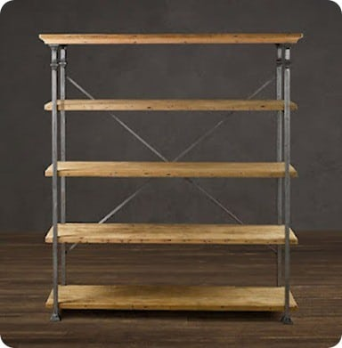 Baker's Rack Open Shelving