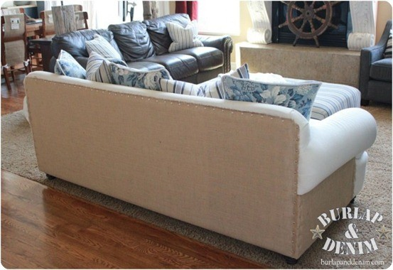 Burlap-and-Thumb-Tack-Sofa-Back