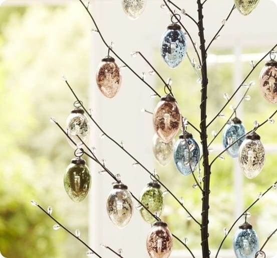 Easter Jeweled Tree