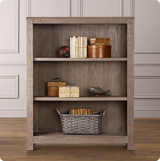 Rustic Wood Bookshelf