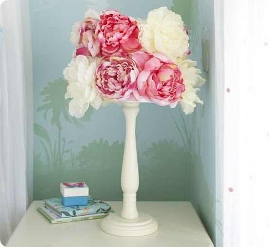 Flower Lamp Shades - Lamps Shades:Lotus Flower Lamp Foter,Lighting
