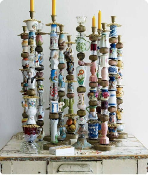 Trinket and Treasure Candlesticks