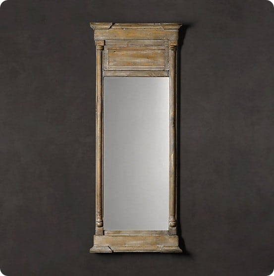 Door To Trumeau Mirror