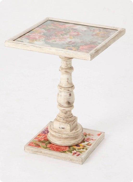 anthro flea market find table