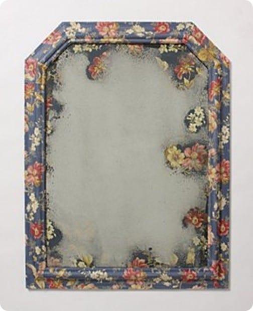 anthro flower mirror