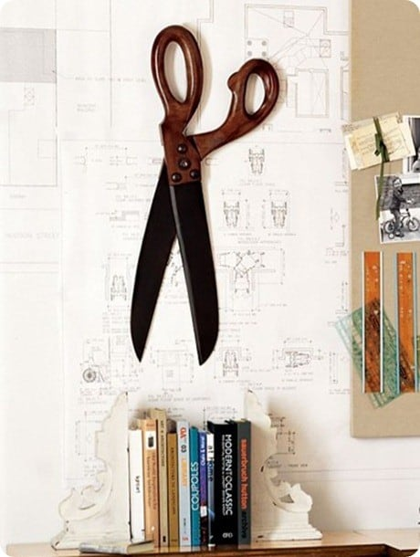 Scissor Wall Decor