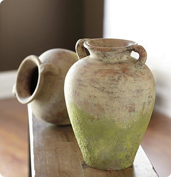 Weathered Terracotta Bottle