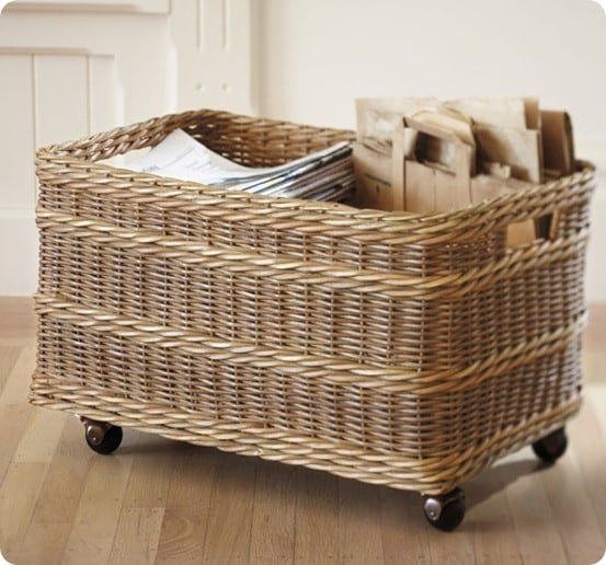 Rolling Storage Basket Knockoffdecor Com