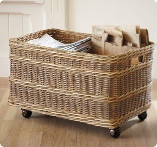 Jacquelyne Recycling Bin Basket