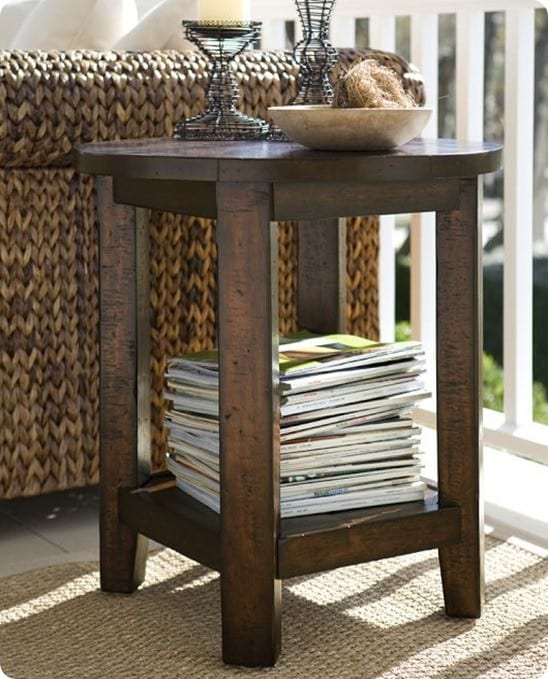 Pottery Barn Benchwright Side Table