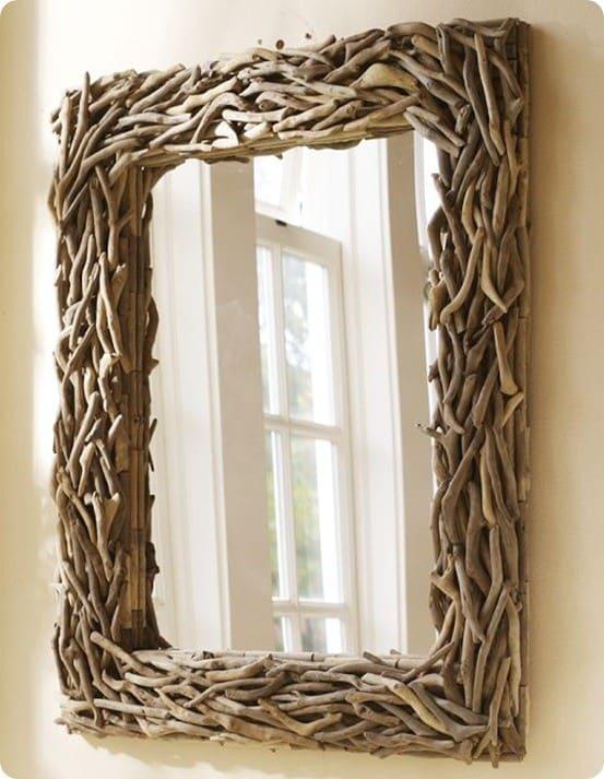 pb driftwood mirror