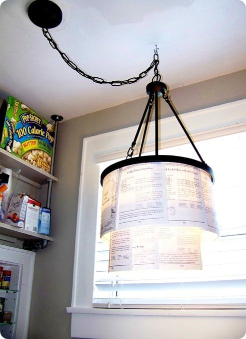 recipe light fixture