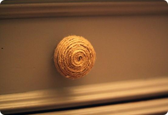 twine wrapped knob