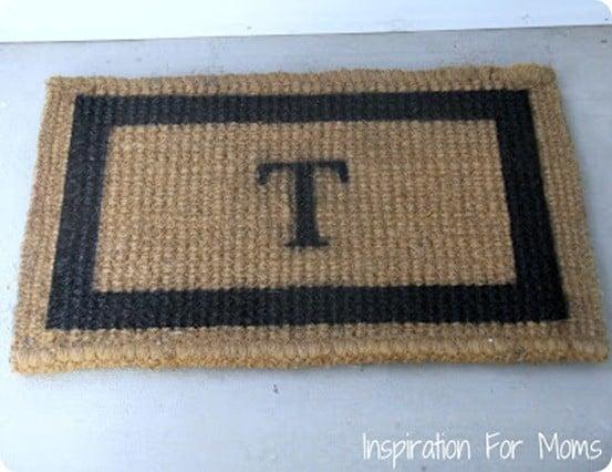 Monogrammed Doormat (2)