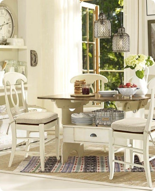 Pottery Barn Furniture Repair Kit: Chalk Paint Dining Chairs
