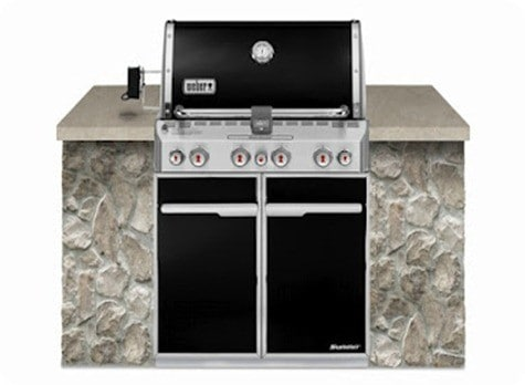 Weber_Summit_E460_Built_In