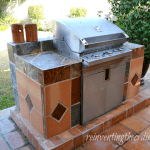 Built-in Barbeque Grill