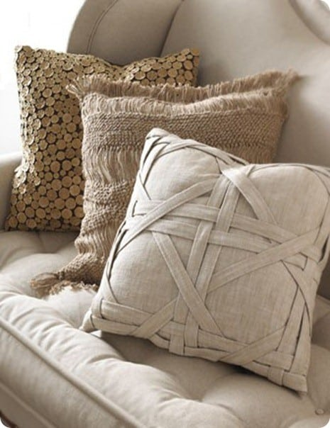 Woven Pillow Cover Knockoffdecor Com
