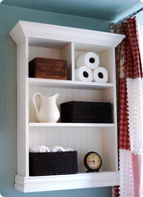 pottery barn bathroom wall cabinet 2