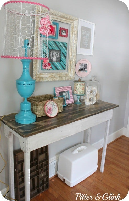 vintage style table