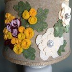 Embellished Flower Lampshade