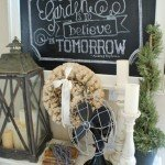 diy chalkboard art