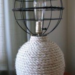 Nautical Rope Lamp