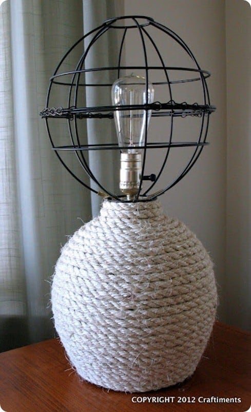 Nautical Rope Lamp Knockoffdecor Com