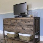 Open Bottom Dresser