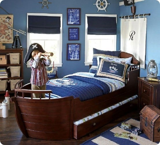 pottery barn kids pirate room
