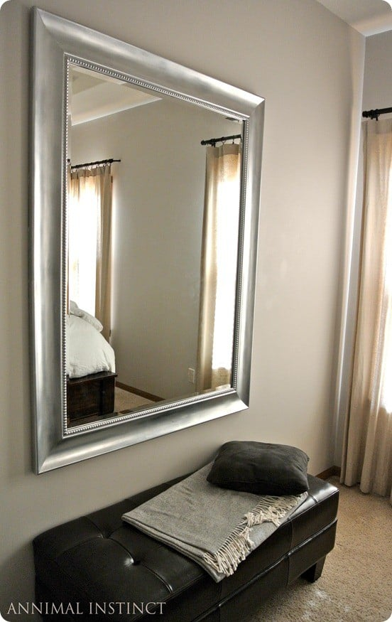 Silver Painted Mirror Knockoffdecor Com