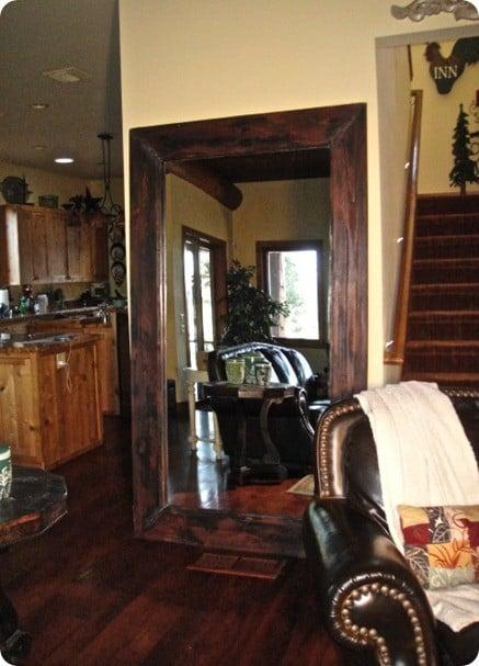 Wooden Floor Mirrors