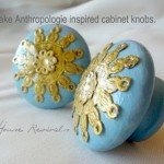 anthro inspired doily knobs