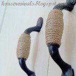Twine Wrapped Cabinet Handles