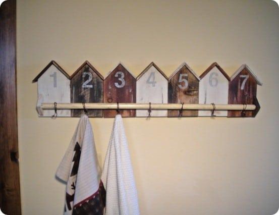 cabin wall hooks