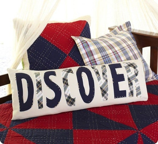 discover lumbar pillow from pb kids