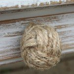 diy nautical jute knobs