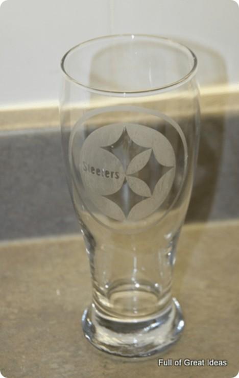 diy nfl etched glass