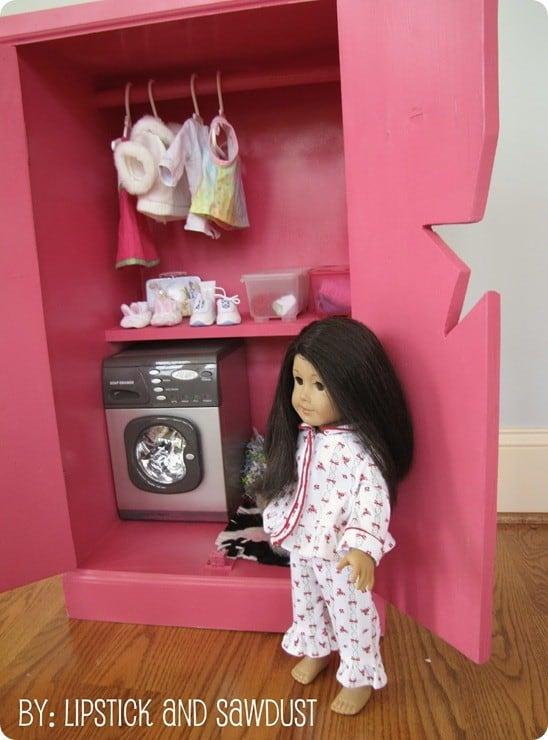 doll storage cabinet