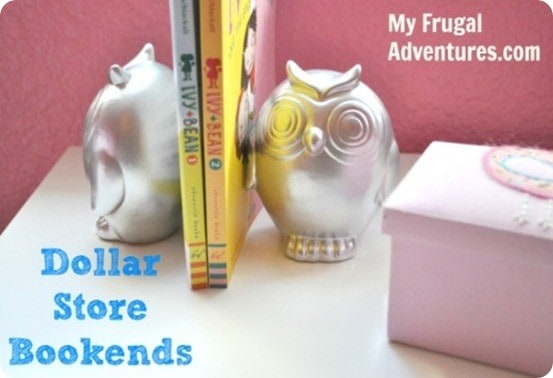 dollar tree owl bookends