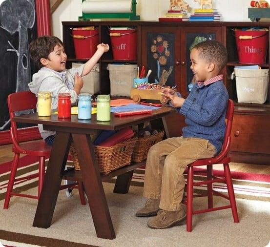 hudson trestle table